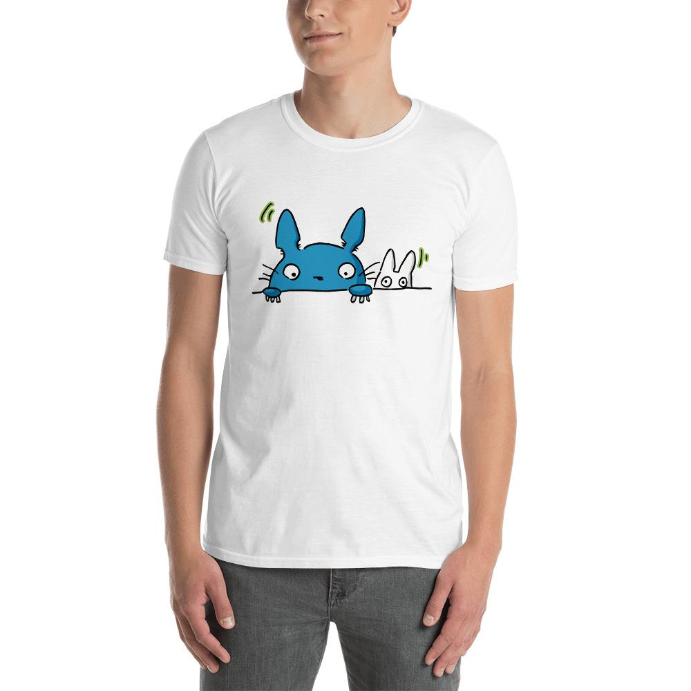 Mini Twins Totoro T Shirt Unisex