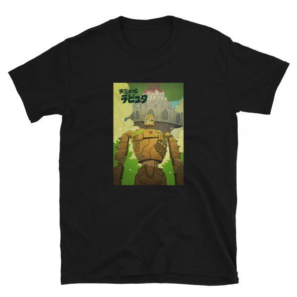 Laputa Castle in the Sky Robot Warrior T Shirt