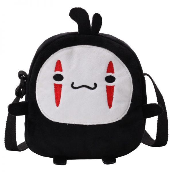 Spirited Away Cute No Face Mini Plush Bag