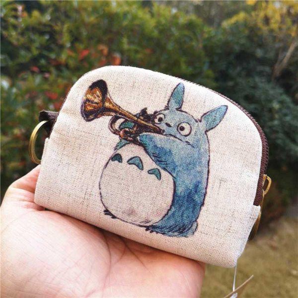 My Neighbor Totoro Canvas Coin Purse