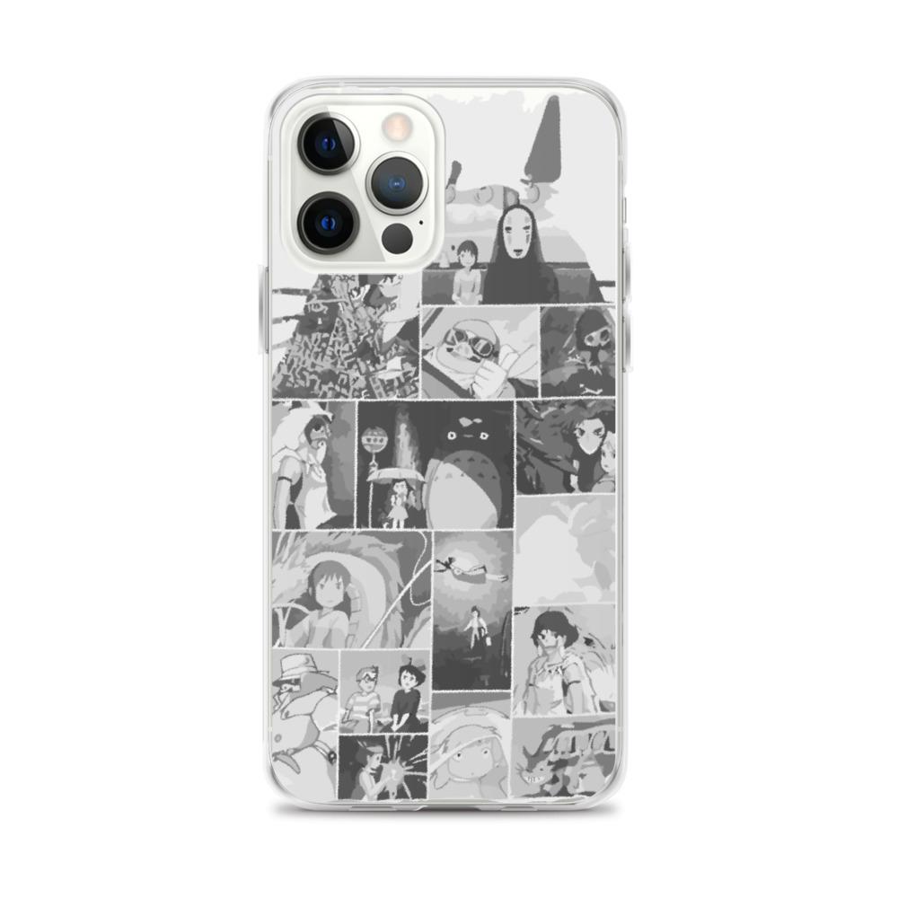 Ghibli Studio Collage Art iPhone Case
