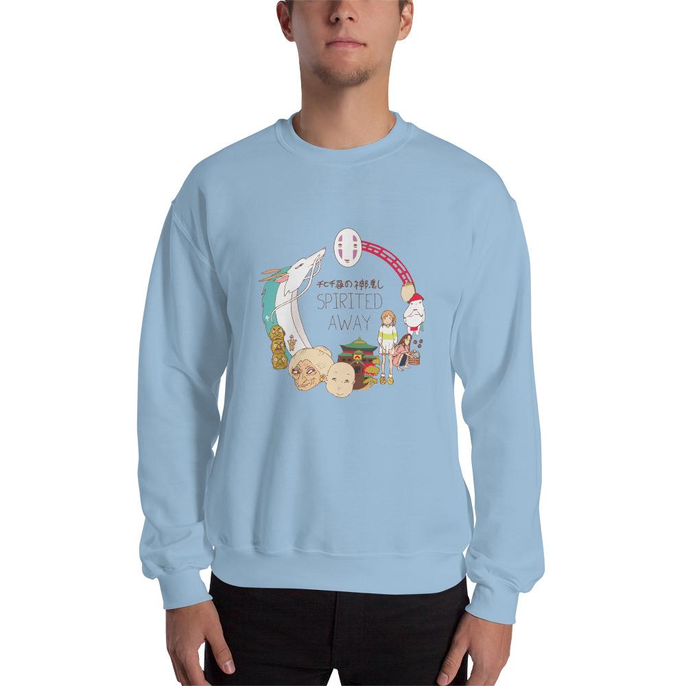 Spirited Away Compilation Characters Sweatshirt Unisex