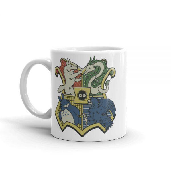 Studio Ghibli Characters As Hogwarts House Mug