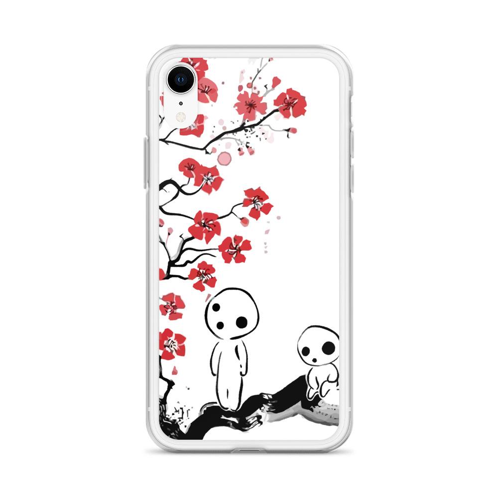 Princess Mononoke - Tree Spirits on the Cherry Blossom iPhone Case