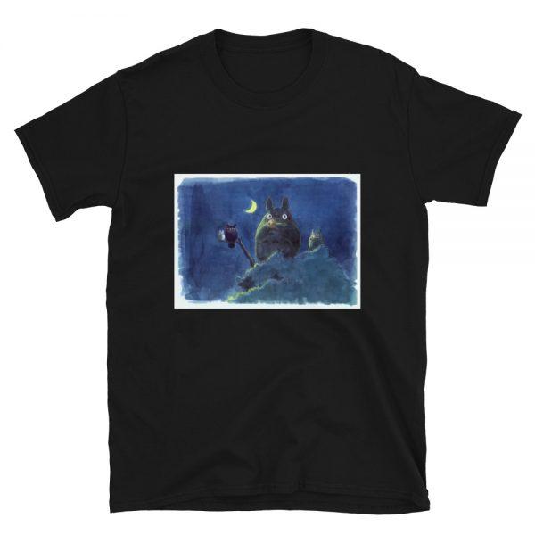 My Neighbor Totoro by the Moon Pastel Art T Shirt