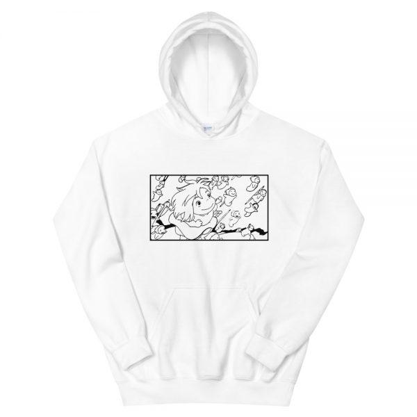 Ponyo – Freedom Sketch Unisex Hoodie