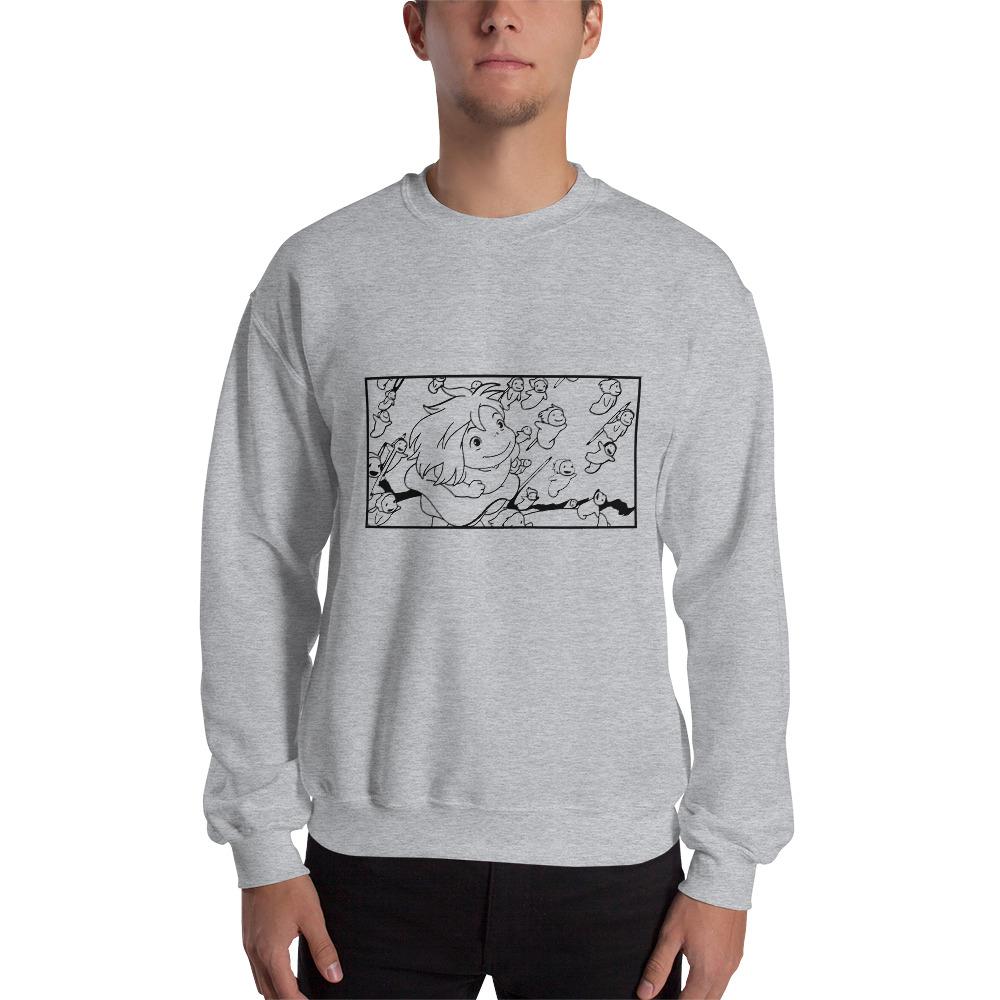 Ponyo – Freedom Sketch Unisex Sweatshirt