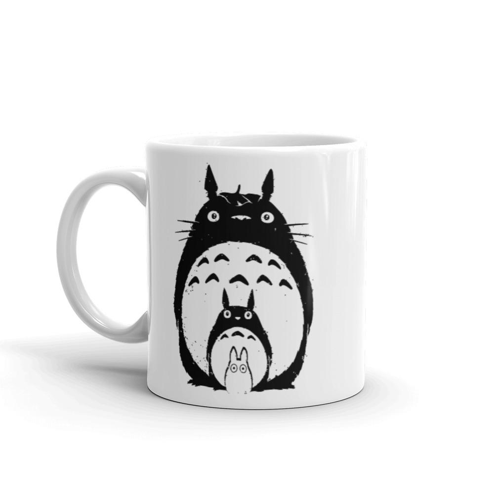 My Neighbor Totoro Black & White Mug