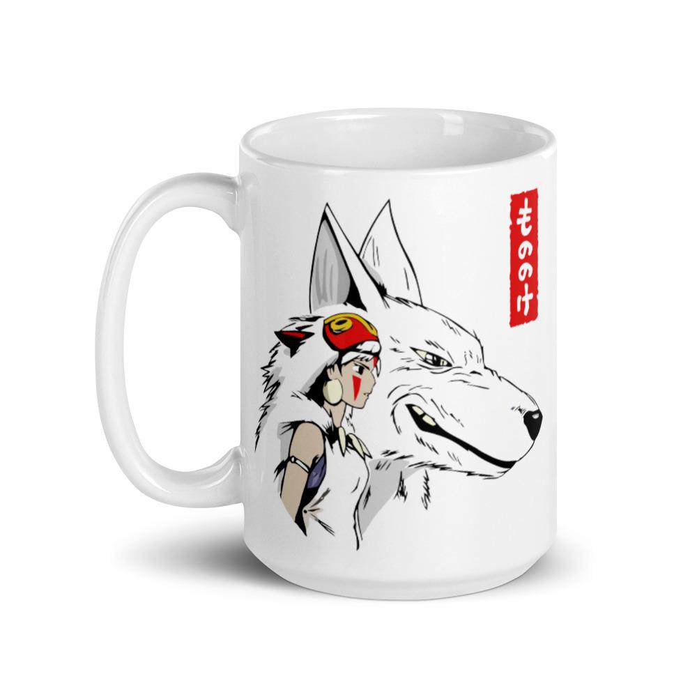Princess Mononoke – San and The Wolf Mug