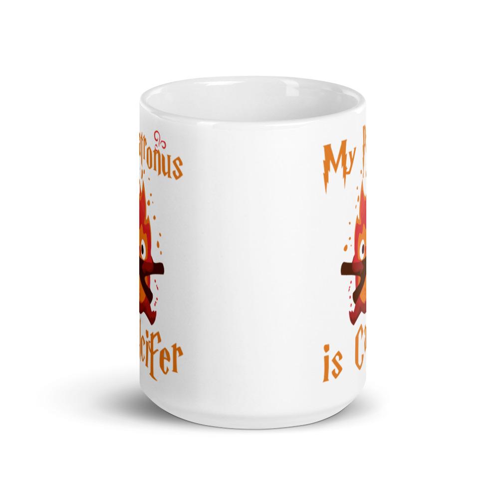 Howl's Moving Castle – My Patronus is Calcifer Mug