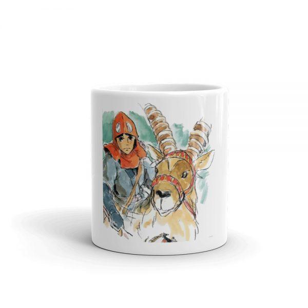 Princess Mononoke – Ashitaka Water Color Mug