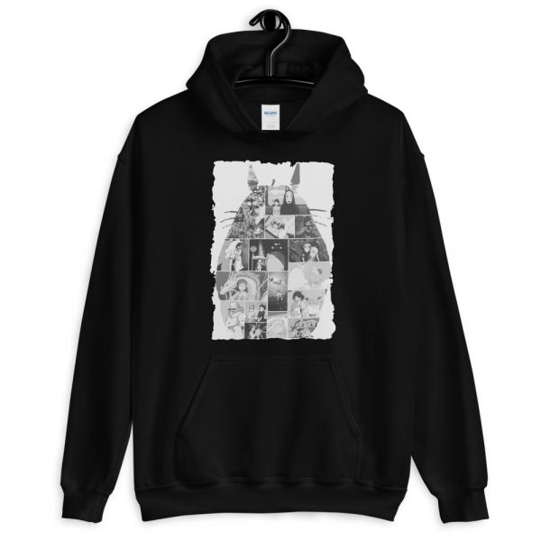 Ghibli Studio Collage Art Hoodie Unisex
