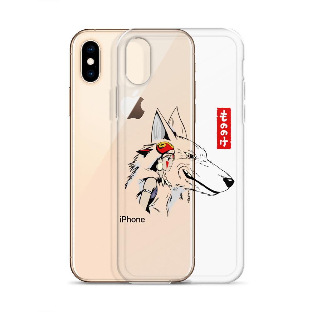 Princess Mononoke – San and The Wolf iPhone Case
