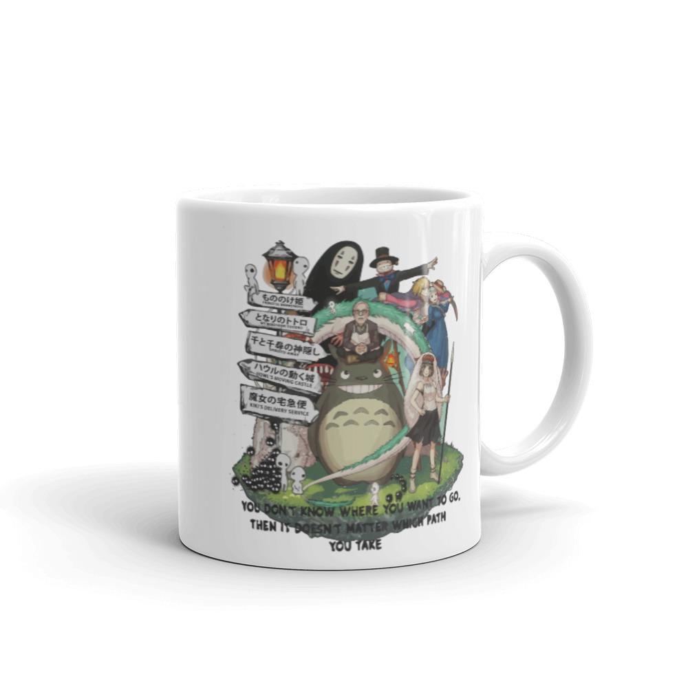 Studio Ghibli Hayao Miyazaki With His Arts Mug