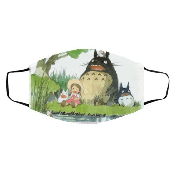 My Neighbor Totoro Picnic Face Mask