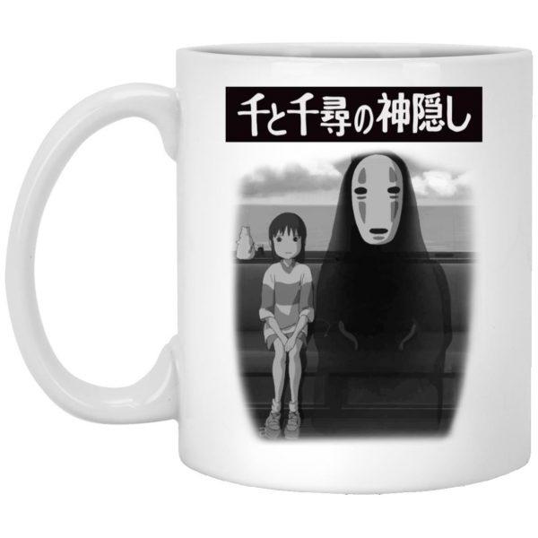Spirited Away – Chihiro and No Face on the Train White Mug
