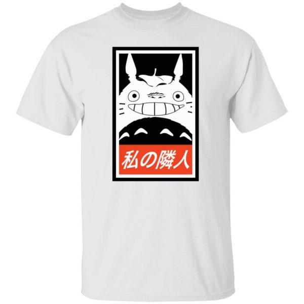 Smiling Totoro T Shirt Unisex