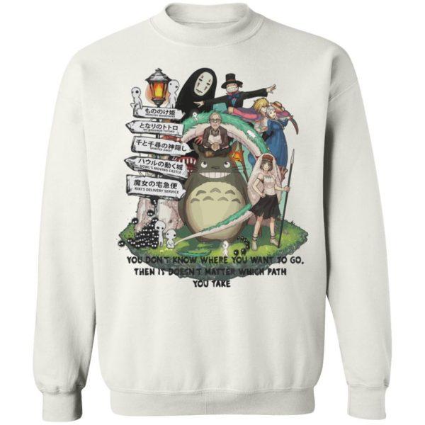 Studio Ghibli Hayao Miyazaki With His Arts Sweatshirt Unisex