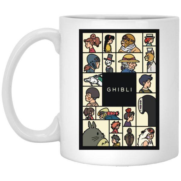 Compilation Characters of Studio Ghibli Mug