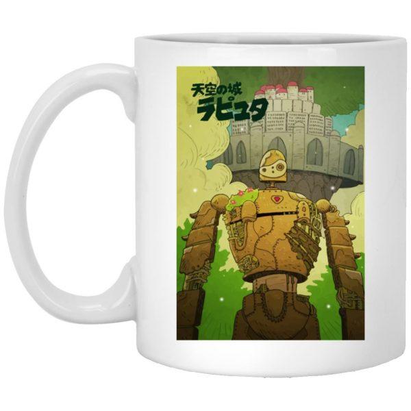 Laputa Castle in the Sky Robot Warrior Mug