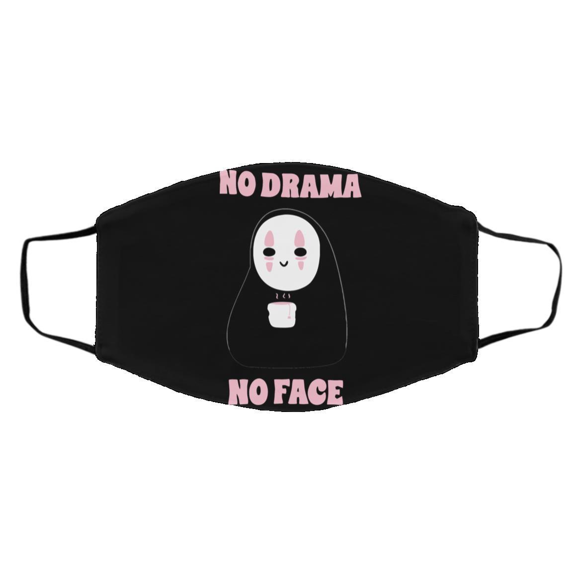 No Drama, No Face Face Mask