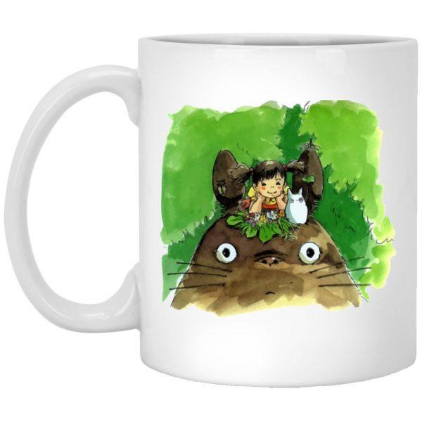 My Neighbor Totoro & Mei Water Color Art Mug