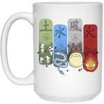 Ghibli Elemental Mug 15Oz