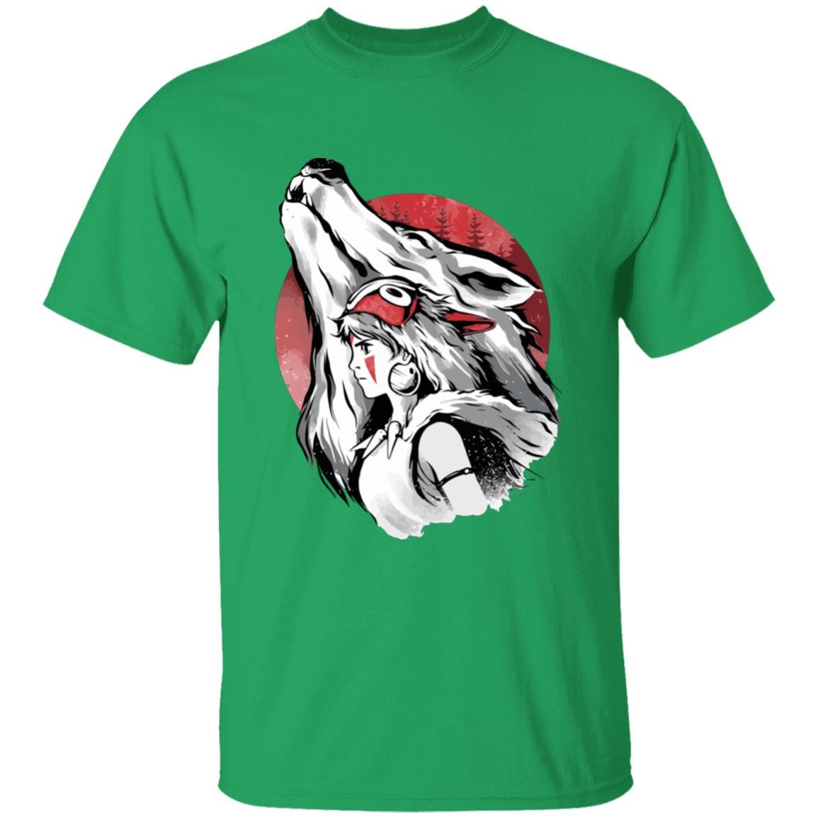 Princess Mononoke – Red Moon T Shirt