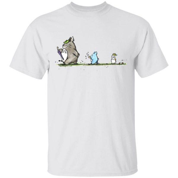 Totoro Family Parade T Shirt