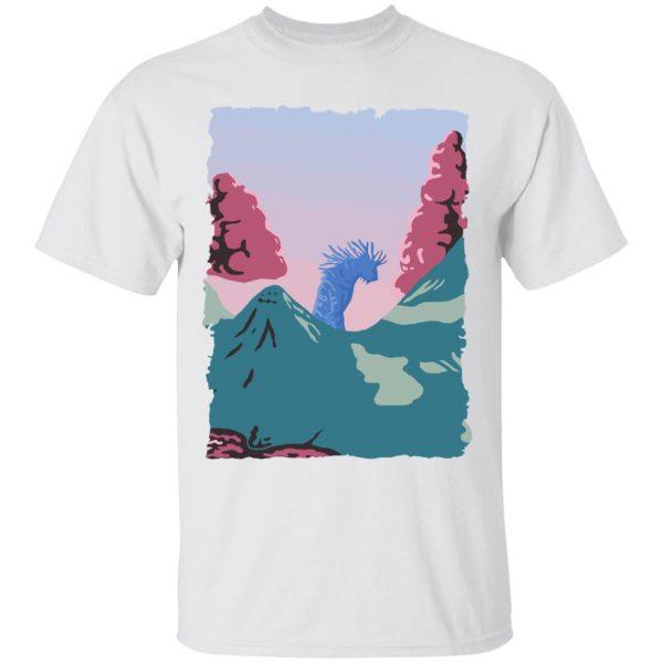 Princess Mononoke – Shishigami Night time T Shirt Unisex