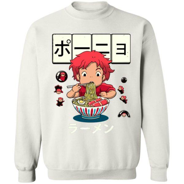 Ponyo very first Ramen Sweatshirt