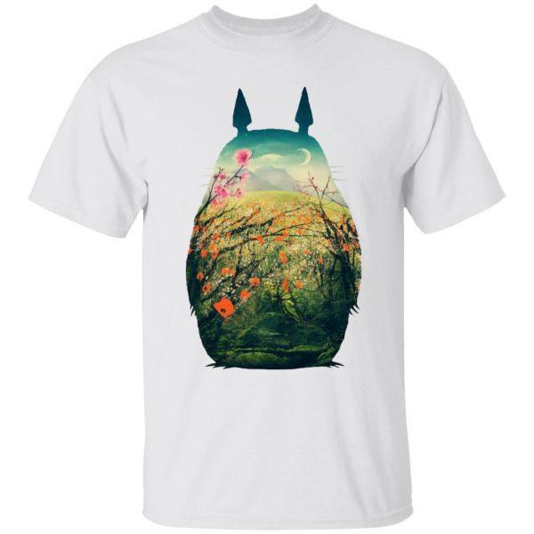 My Neighbor Totoro Colorful Cutout T Shirt