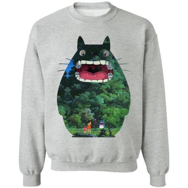 Totoro Jungle Color Cutout Hoodie