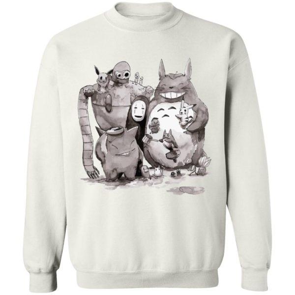 Ghibli ft. Pokemon Characters Sweatshirt