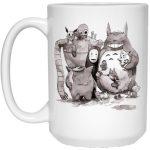 Ghibli ft. Pokemon Characters Mug 15Oz