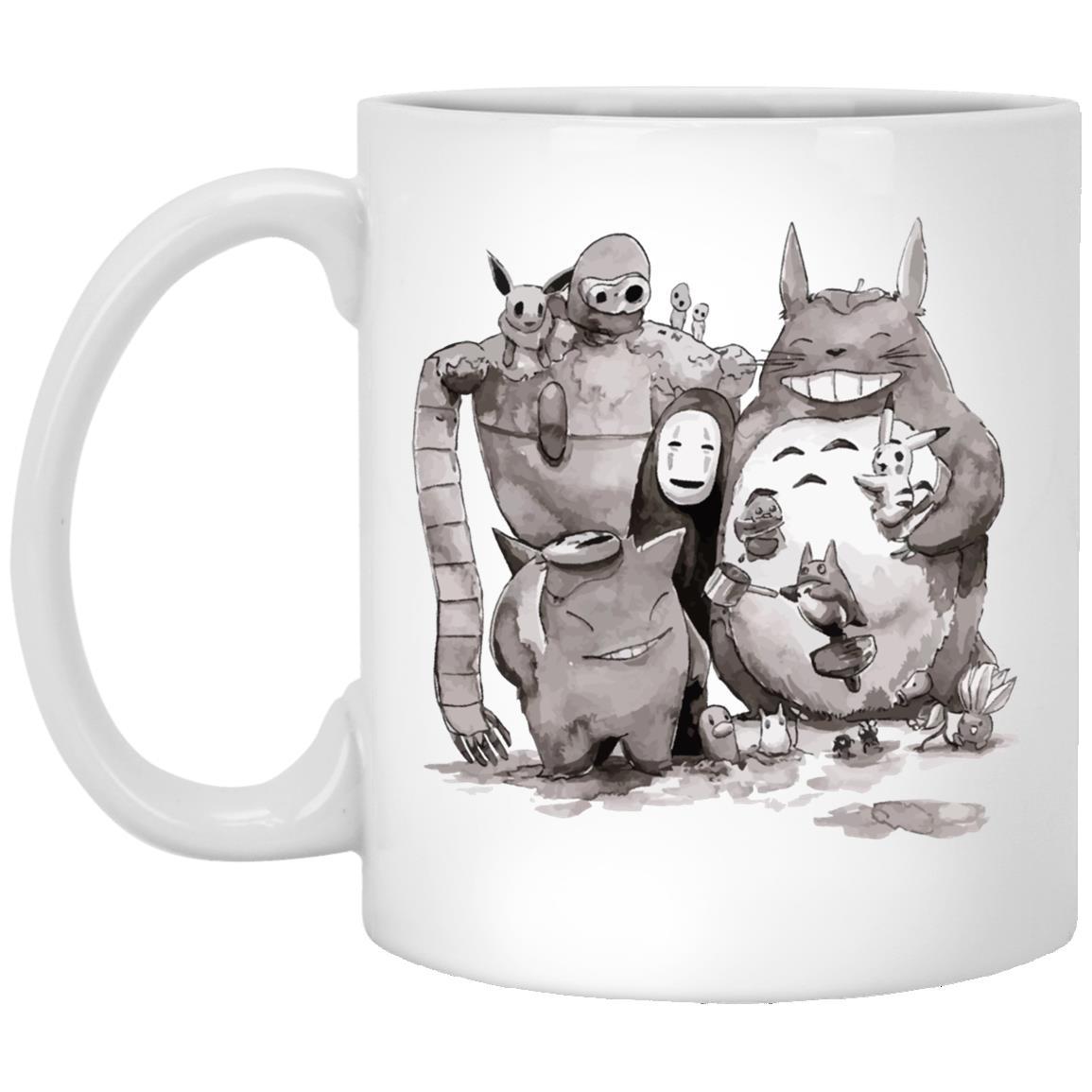 Ghibli ft. Pokemon Characters Mug