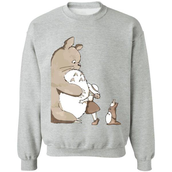 Totoro and Mei: Hugging Hoodie