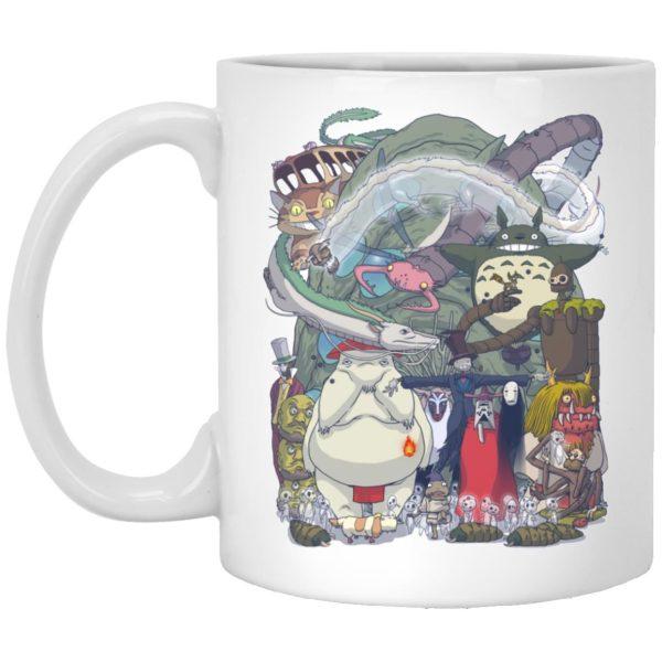 Ghibli Highlights Movies Characters Collection Mug