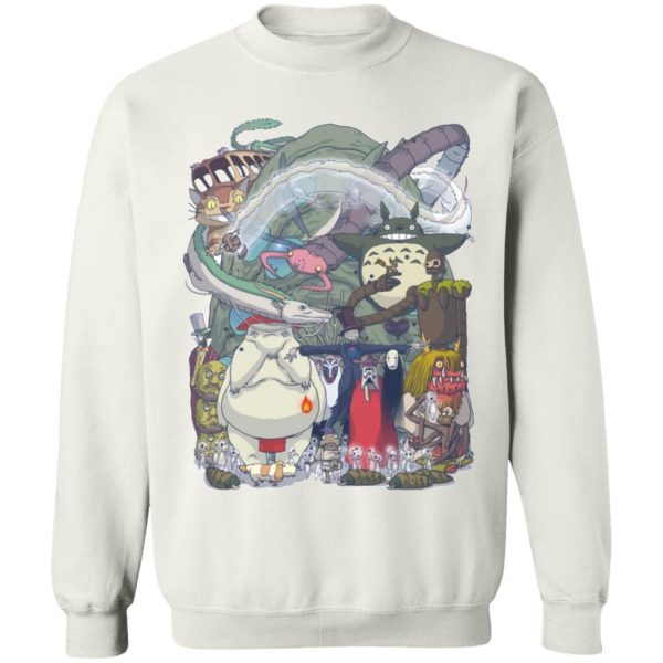Ghibli Highlights Movies Characters Collection Sweatshirt