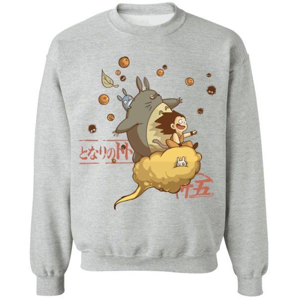 Totoro and Son Goku Sweatshirt