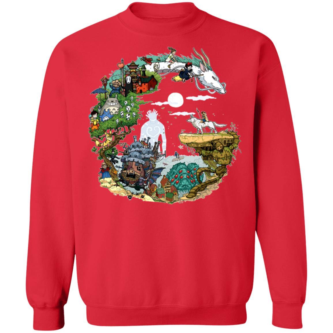 Ghibli Movie Circle Sweatshirt