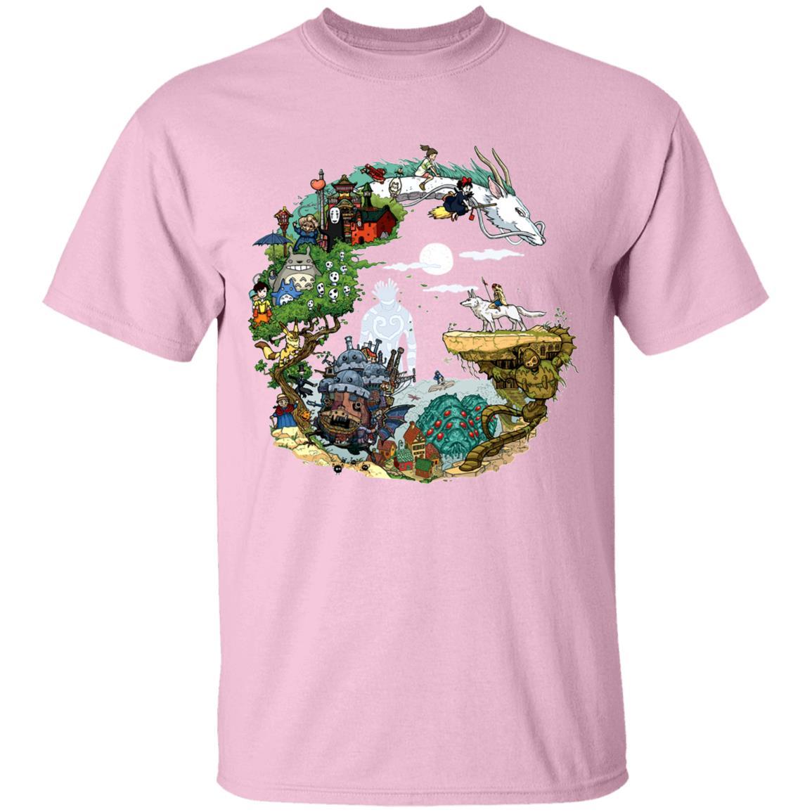 Ghibli Movie Circle T Shirt