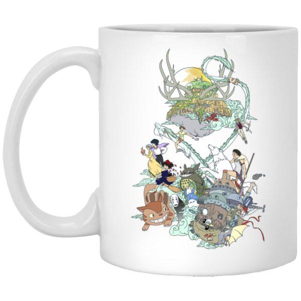 Ghibli Characters Color Collection Mug