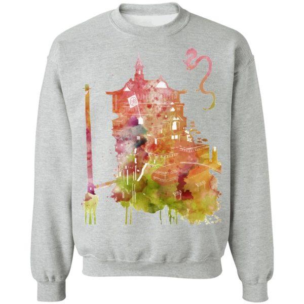 Spirited Away – The Bathhouse Color Cutout T Shirt