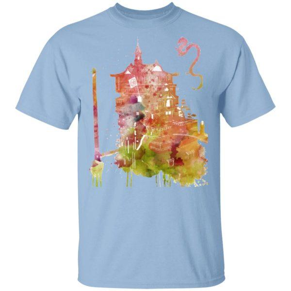 Spirited Away – The Bathhouse Color Cutout Sweatshirt