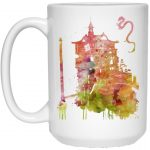 Spirited Away - The Bathhouse Color Cutout Mug 15Oz