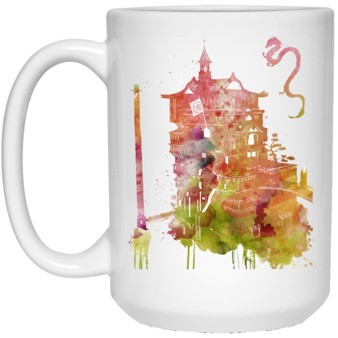 Spirited Away – The Bathhouse Color Cutout Mug