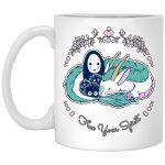 Spirited Away - No Face and Haku Dragon Mug 11Oz