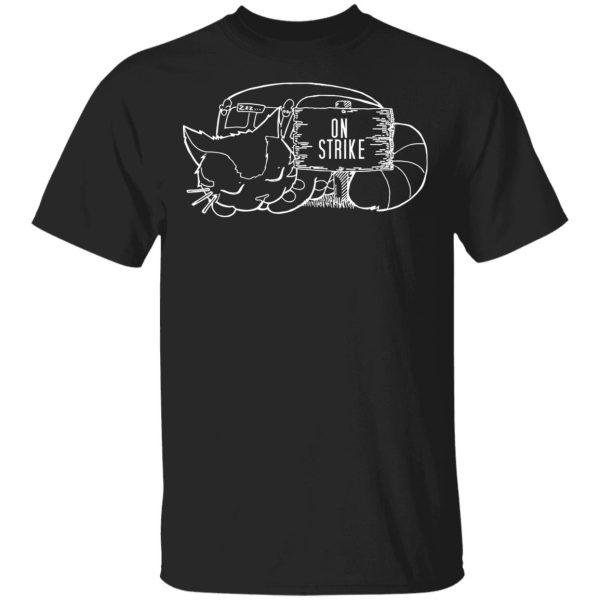 Customcat My Neighbor Totoro – CatBus on strike T Shirt