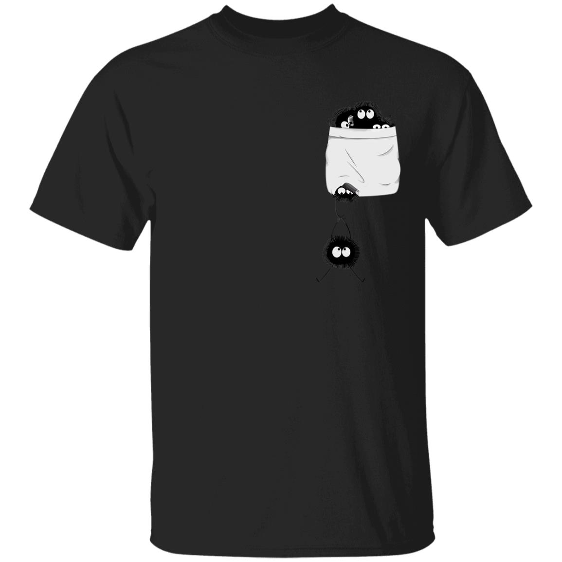 Spirited Away – Soot Ball in pocket T Shirt